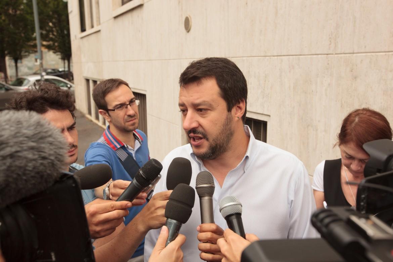 Il capo leghista Matteo Salvini