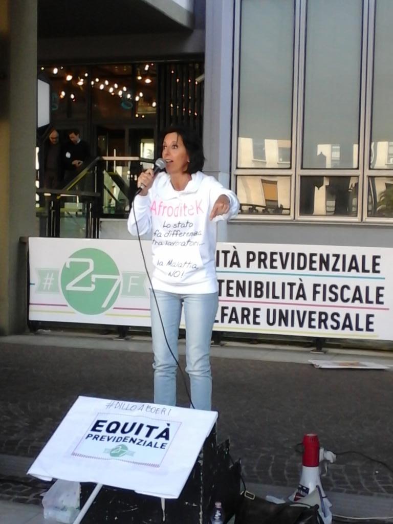 Daniela Fregosi (Acta), attivista per i diritti dei freelance