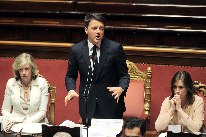 Giannini, Renzi, Boschi