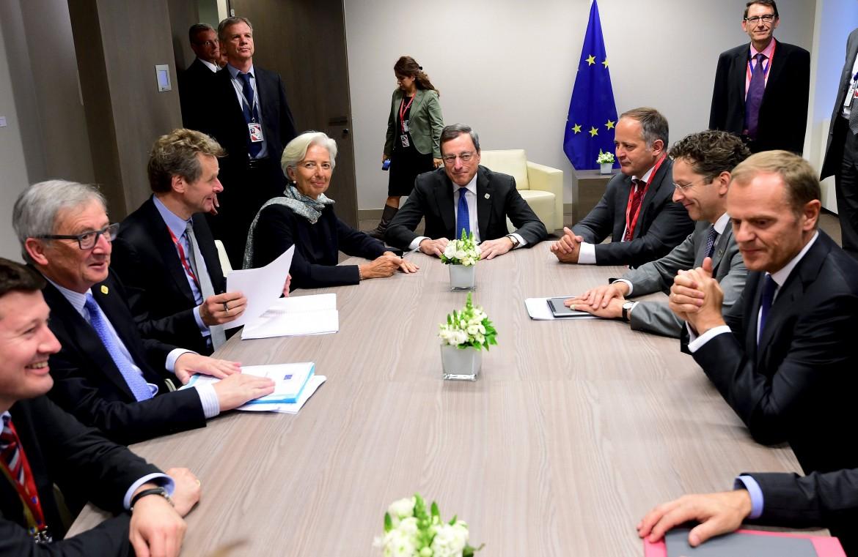 Il tavolo dei creditori a Bruxelles il 23 giugno scorso