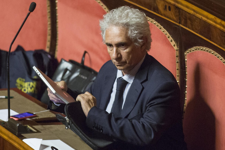 Il senatore Corradino Mineo
