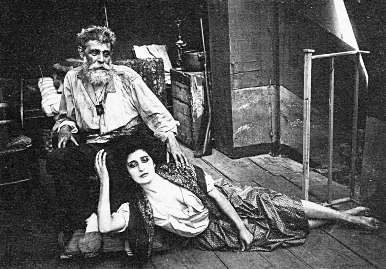 Una scena da «Rovine» di Elvira Notari