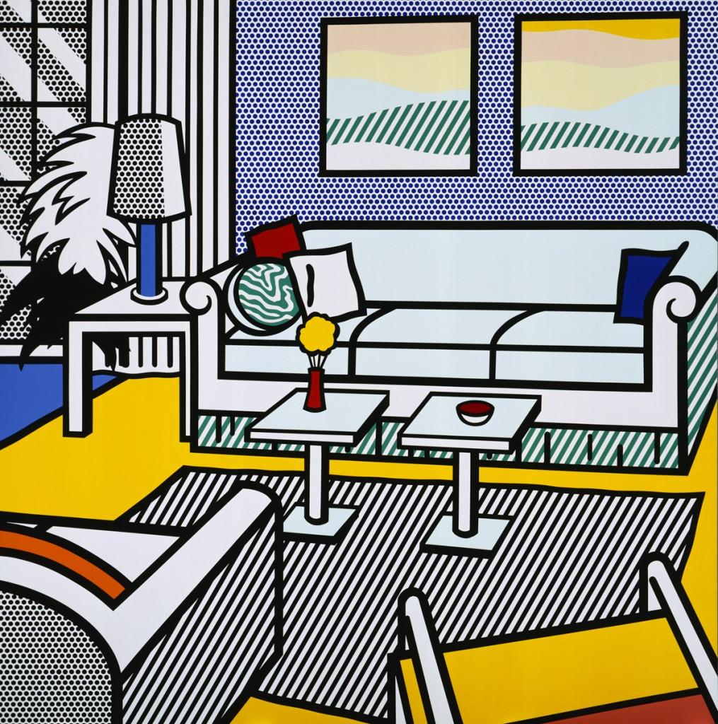 Un interior di Roy Lichtenstein