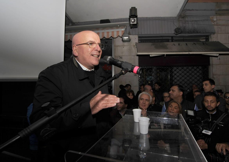 Il presidente della regione Calabria Mario Oliverio