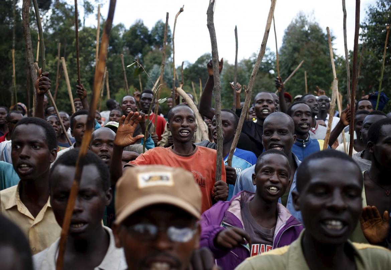 Proteste di piazza contro il terzo mandato del presidente Nkurunziza