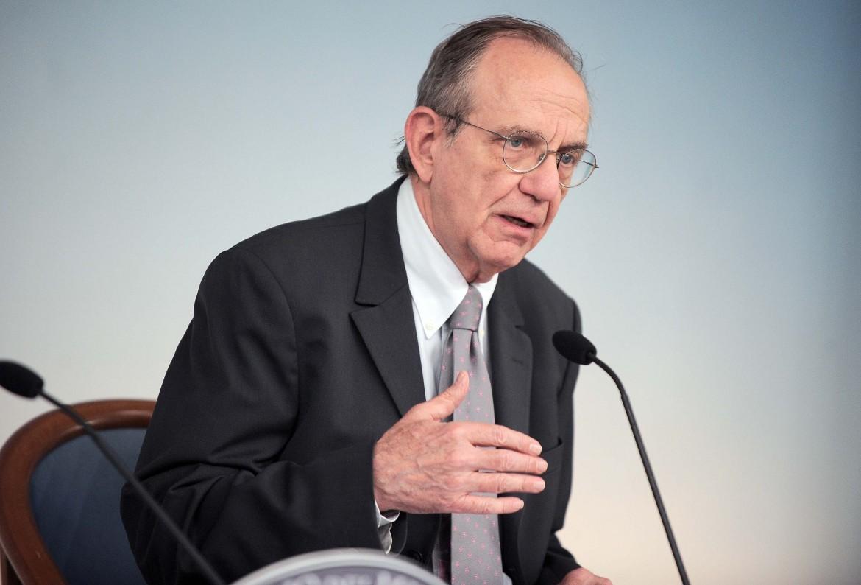 Il  Ministro dell'Economia e delle Finanze, Pier Carlo Padoan