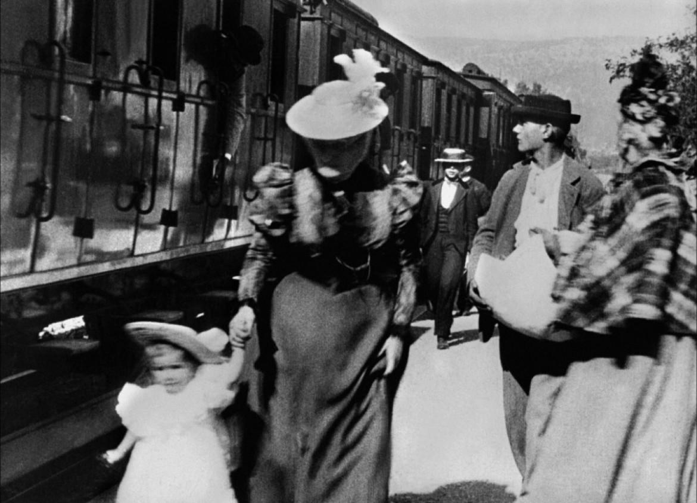 L' arrivée d'un trean en gare de la Ciotat (Lumière, 1895)