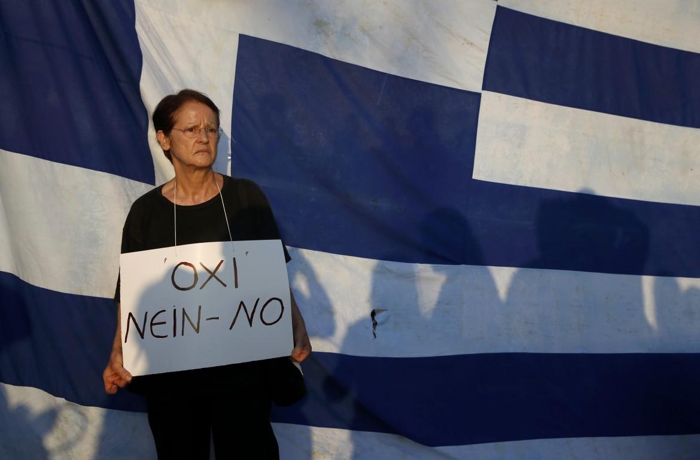Protesta in piazza Syntagma