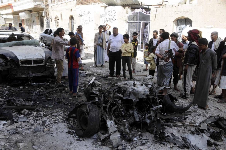Un'autobomba esplosa in Yemen