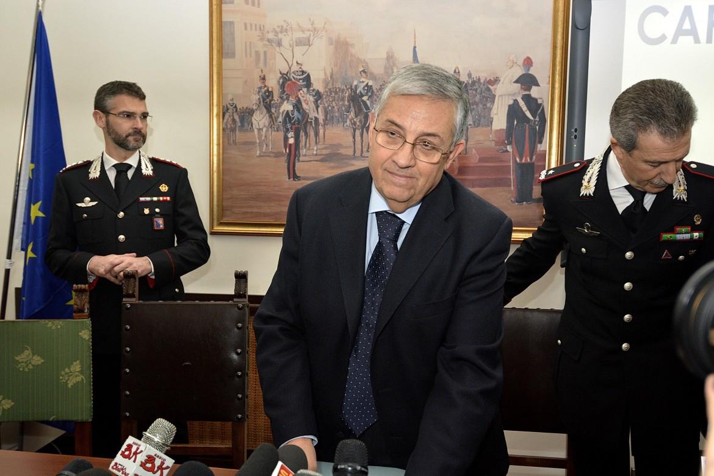 Il procuratore capo di Roma, Giuseppe Pignatone