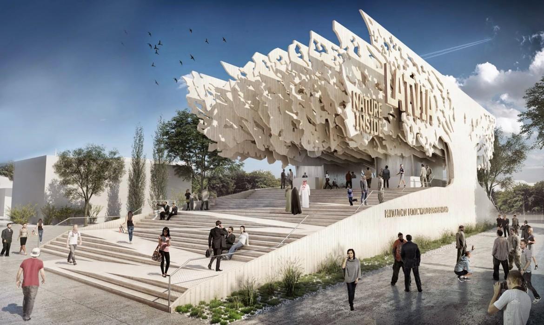 Un padiglione dell'Expo di Milano