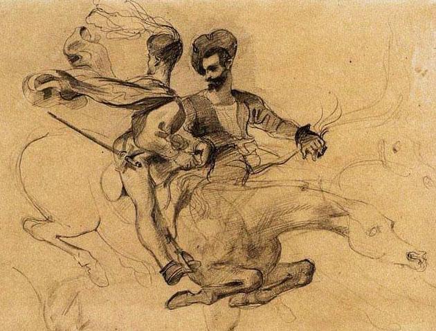 Eugène Delacroix, illustrazioni per il Faust di Goethe (1825-28)