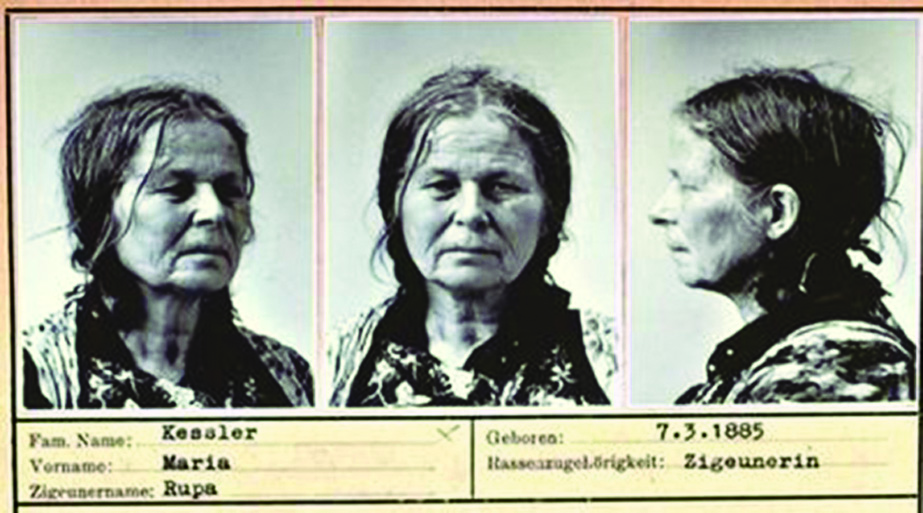 La scheda di una deportata rom