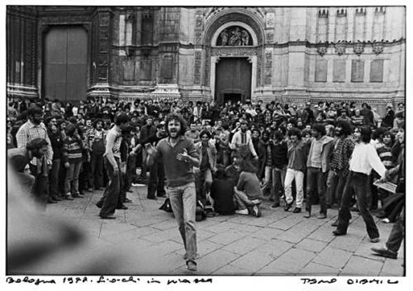 Bologna 1977, foto di Tano D'Amico