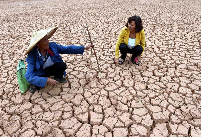 Contadini in Cina