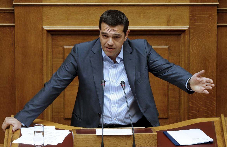 Il primo ministro greco Alexis Tsipras