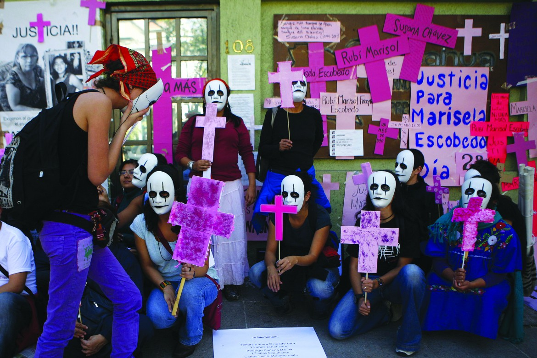 Messico, manifestazione per i diritti umani