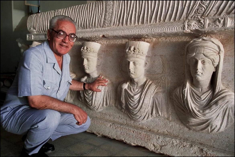 L'archeologo Khaled As'ad