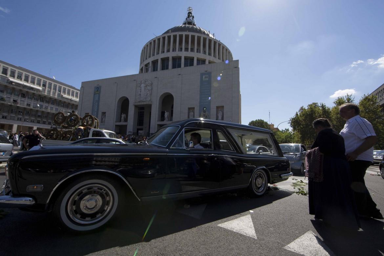 I funerali di Vittorio Casamonica, a Roma