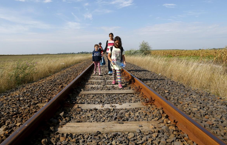 Profughi siriani in Ungheria