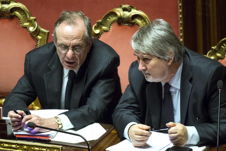 I ministri Paodan e Poletti