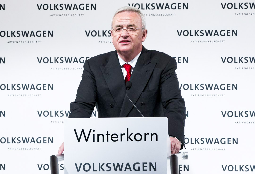 Martin Winterkorn, ad di Volkswagen