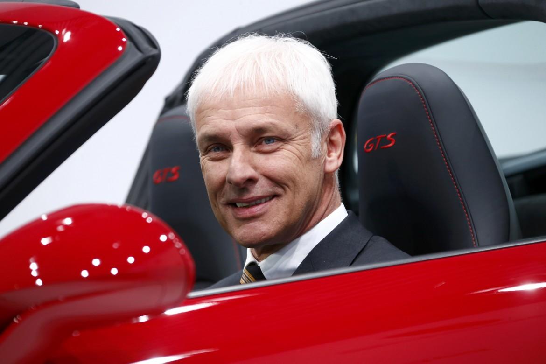 Matthias Müller, nuovo Ceo della Volkswagen