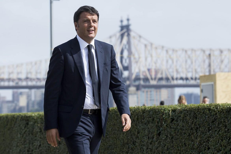 Il presidente del consiglio Matteo Renzi ieri era a New York per l'Assemblea dell'Onu