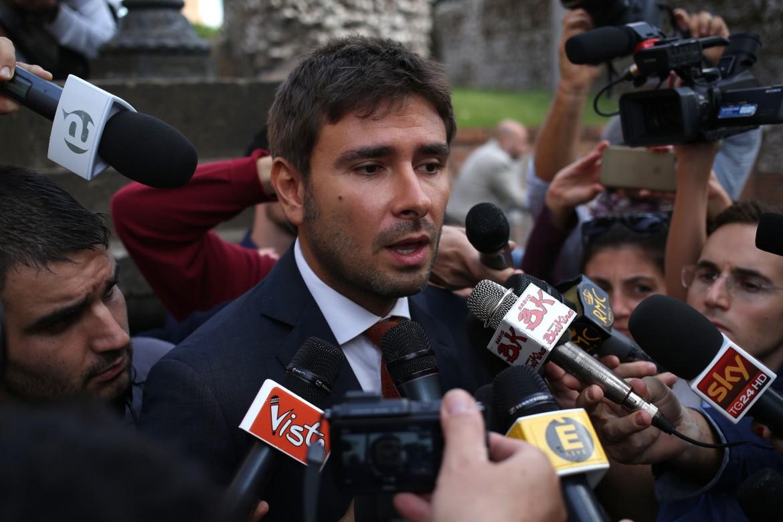 Il deputato grillino Alessandro Di Battista