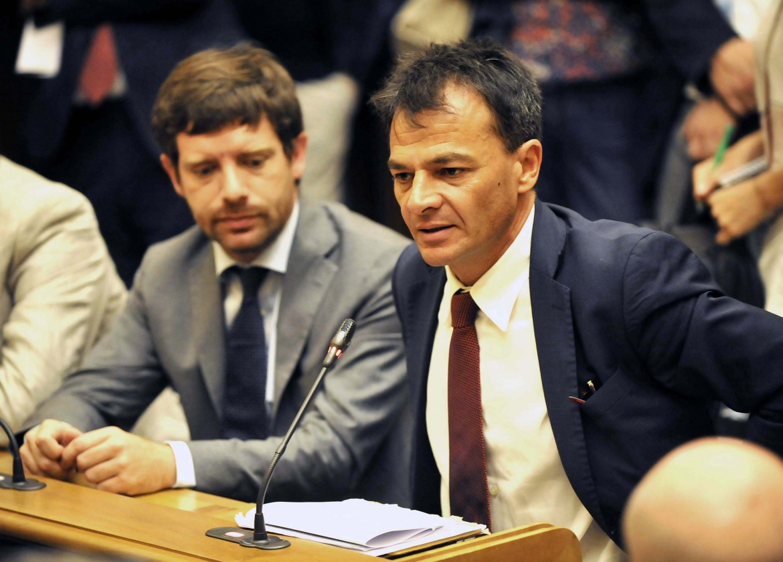 Pippo Civati e Stefano Fassina, ex deputati dem