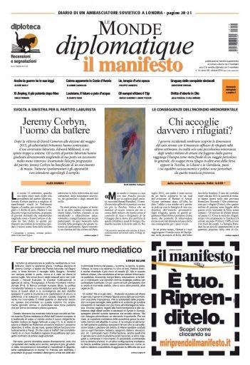 Le Monde diplomatique di ottobre 2015