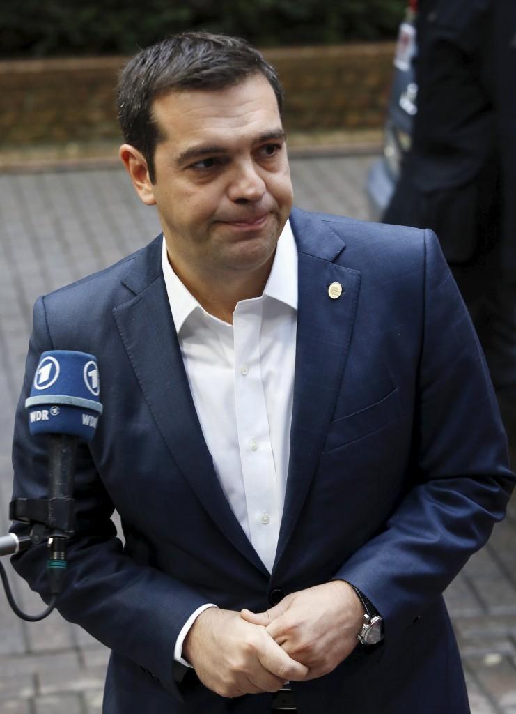 Il premier greco, Alexis Tsipras
