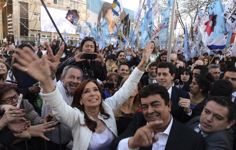 La presidente argentina Cristina Kirchner