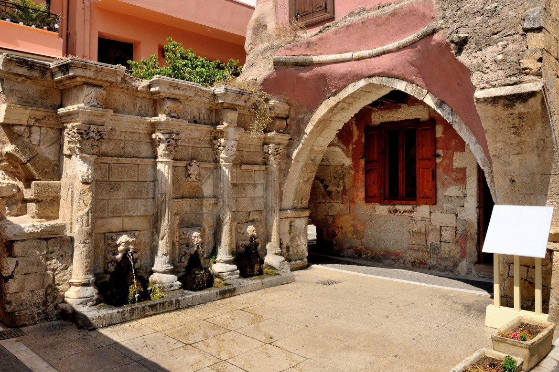 La fontana veneziana di Rethymno