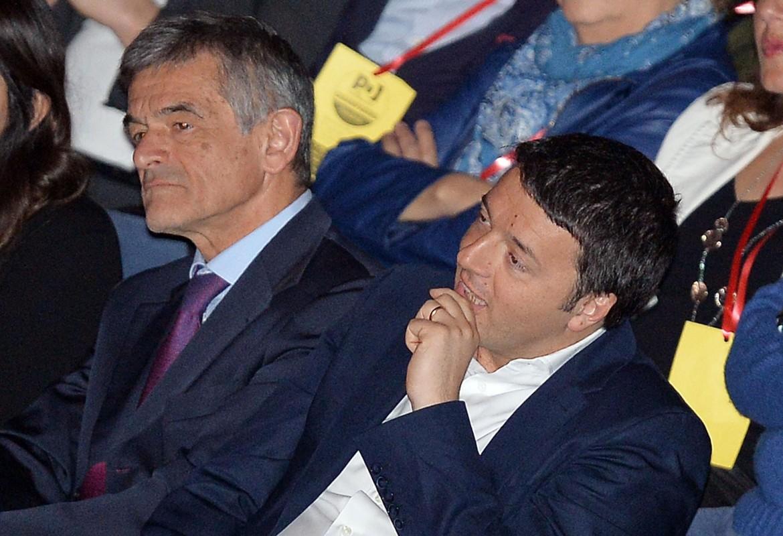 Sergio Chiamparino e Matteo Renzi