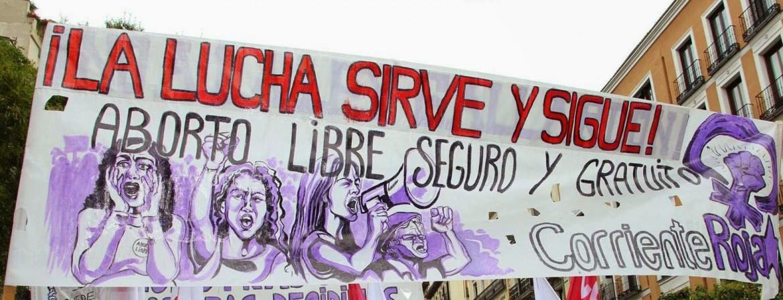 Cile, manifestazione femminista