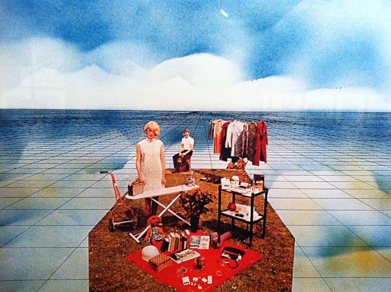 Superstudio, «Supersuperficie. L'isola felice», 1971