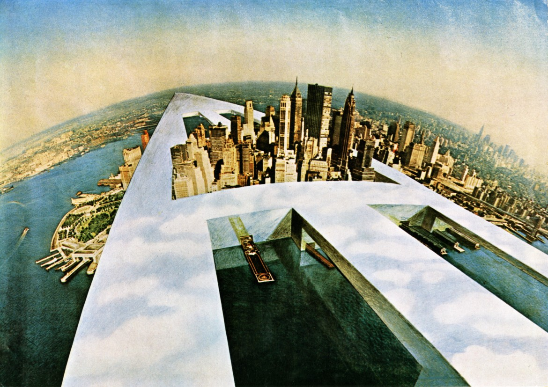 «Monumento Continuo» di Superstudio, 1969