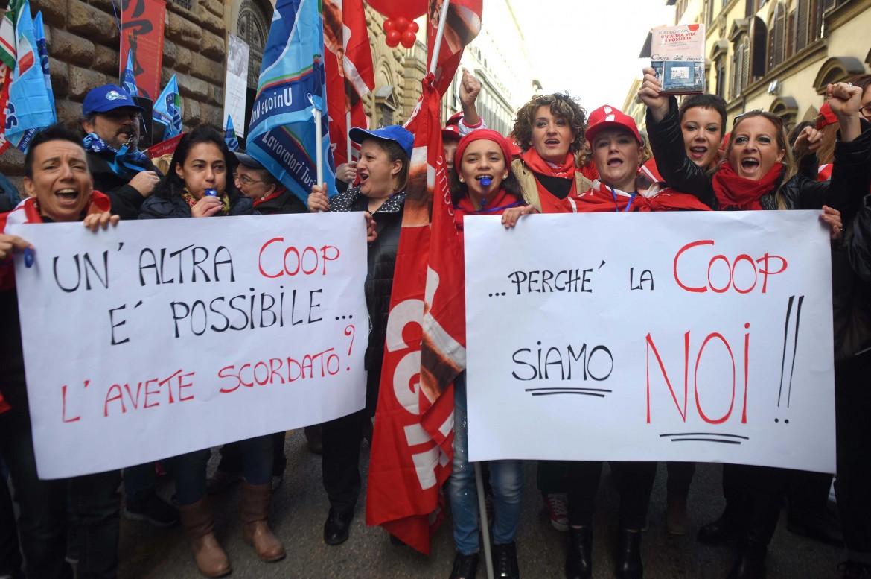 Lo sciopero a Firenze