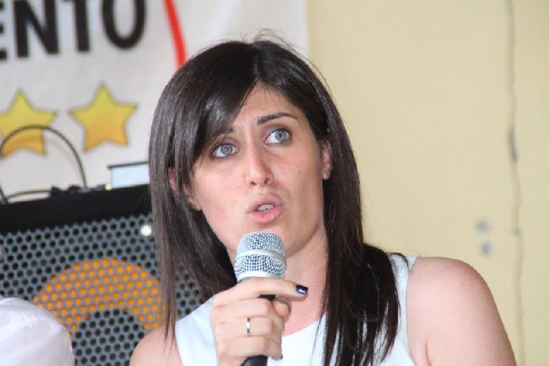 La candidata grillina di Torino Chiara Appendino