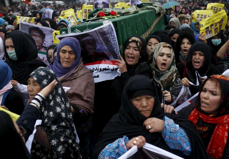 Afghanistan, la protesta delle donne