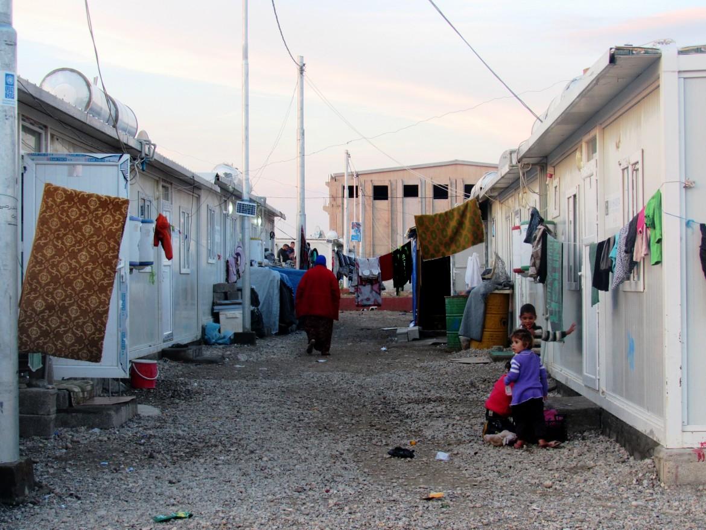 Il campo profughi di Qushtapa