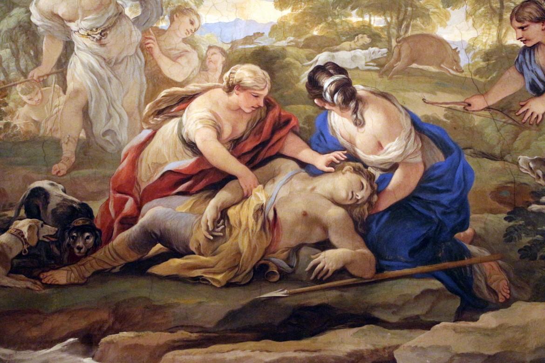 Luca Giordano, Morte di Adone, Firenze, Palazzo Medici -Riccardi