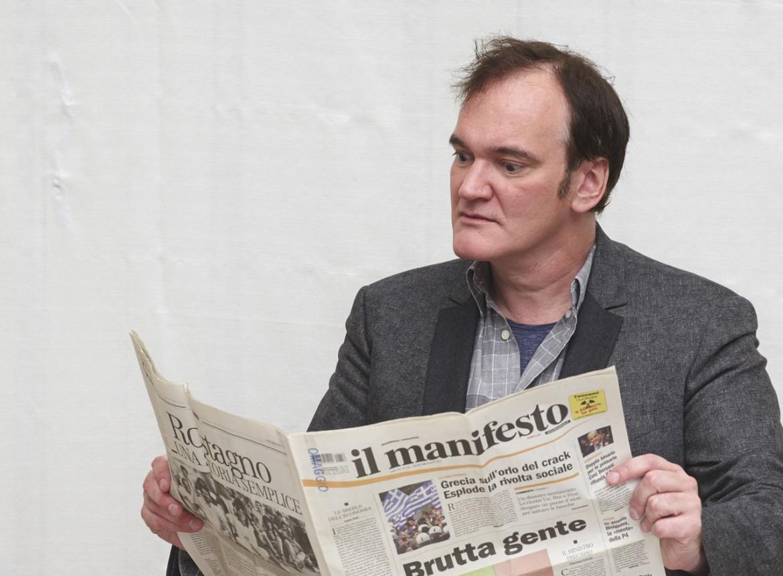 Quentin Tarantino per il manifesto global
