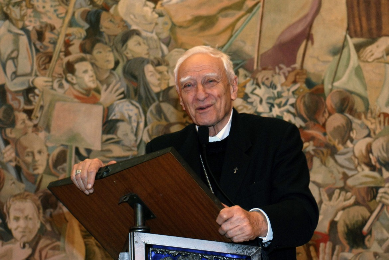 Il vescovo emerito di Ivrea Luigi Bettazzi