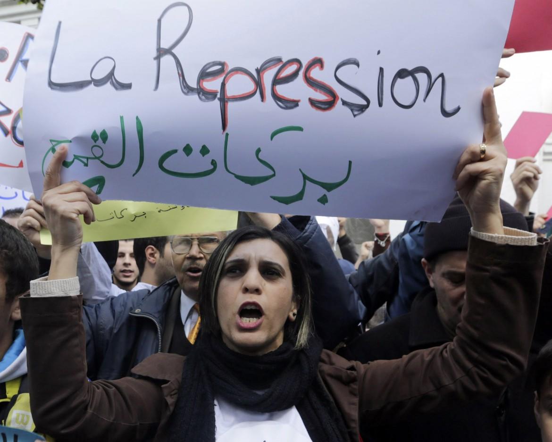 Manifestazione in Algeria
