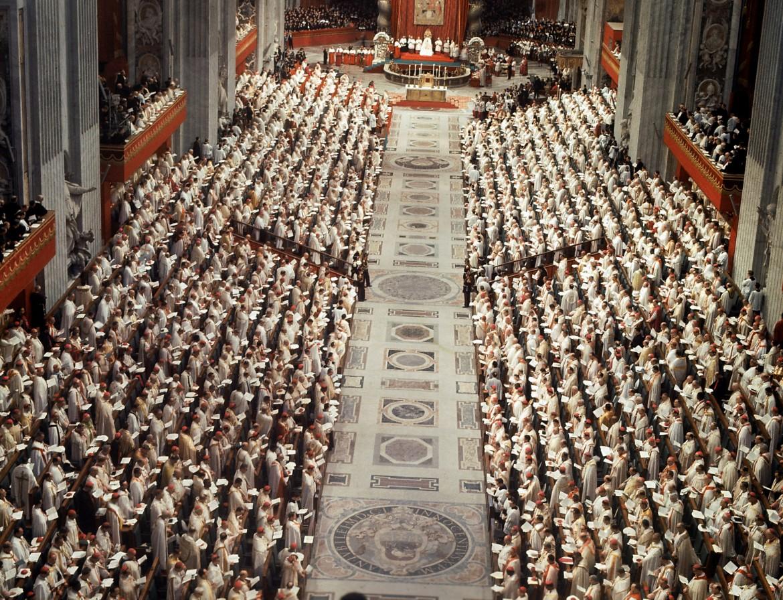 Il Concilio Vaticano II in San Pietro