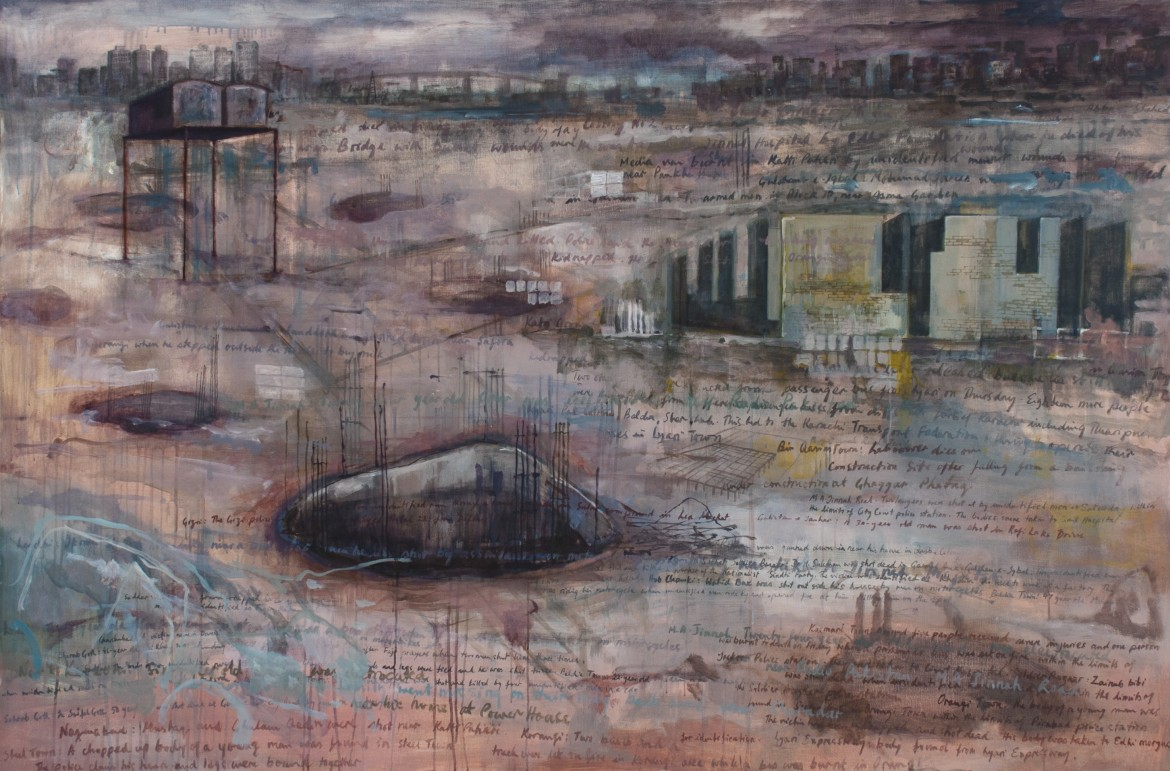 «In this landscape there is no certainty», 2011