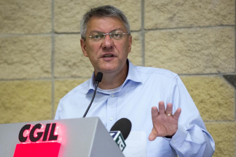 Il segretario generale della Fiom Cgil Maurizio Landini