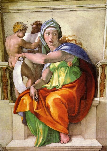 Michelangelo, la sibilla delfica